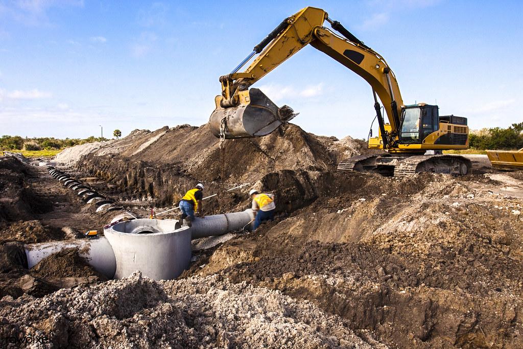 Construction work progresses on Phase I of Exploration Par… | Flickr