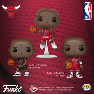 偉大的「空中飛人」大頭化!! Funko Pop! Vinyl NBA【麥可·喬丹】Michael Jordan