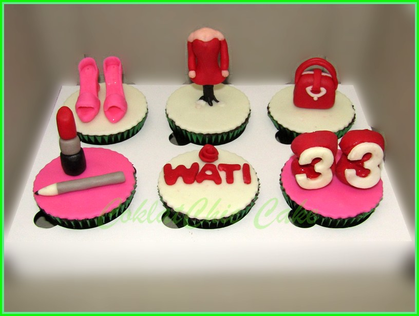 Cupcake set Fashion WATI
