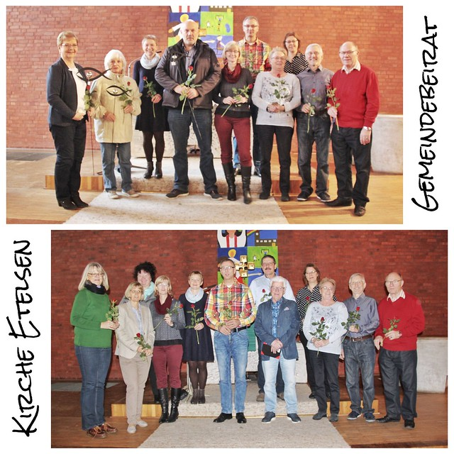 Verabschiedung und Einführung des Gemeindebeirates *** Kirche Etelsen
