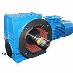 SF Flange Mounted Helical Worm Gear Motor