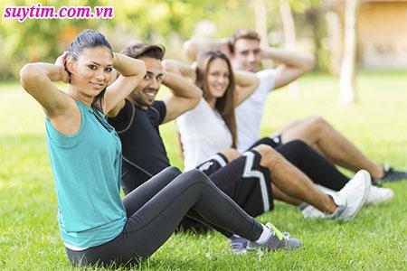 Người hẹp van tim cần vận động để duy trì cân nặng hợp lý và cải thiện sức khỏe