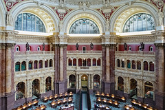 Library of Congress - Main Reading Room  - Washington, DC