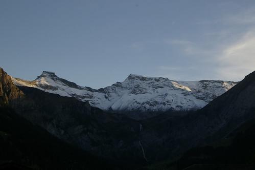 Wildstrubel & Steghorn mit etwas Abendsonne