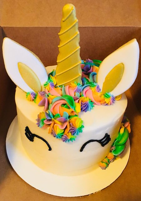 Unicorn Cake by Marna Cakes