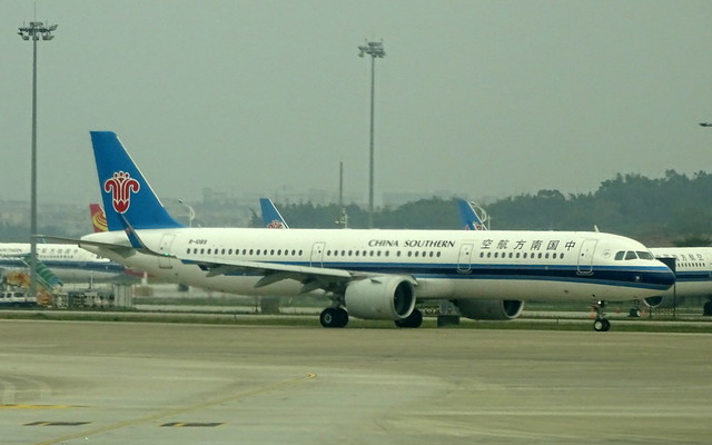 China Southern Airlines Airbus A321NEO B-1089