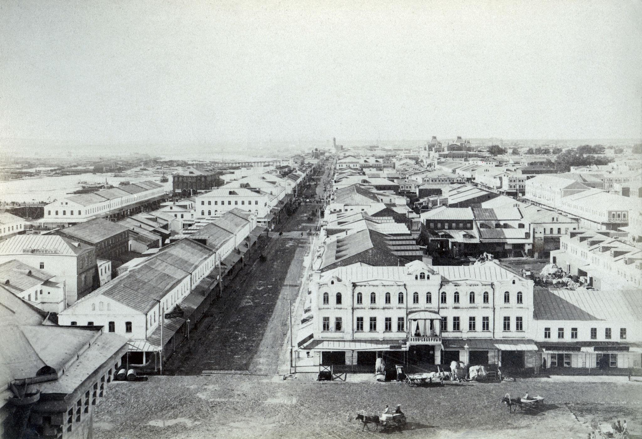 Вид с храма Александра Невского