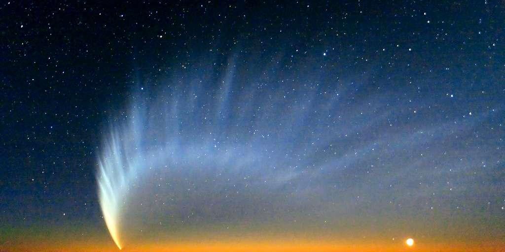 De nouvelles connaissances sur les queues de comètes