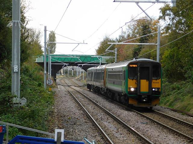 Approaching Bloxwich Station, Nikon COOLPIX B500