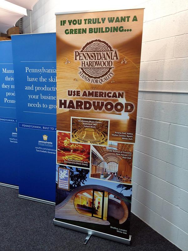 PA Hardwoods Green Story Banner