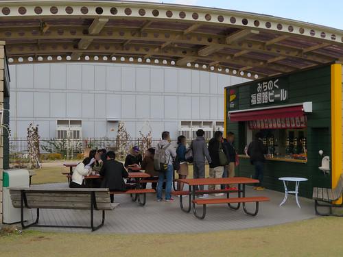 福島競馬場のみちのく福島路ビール