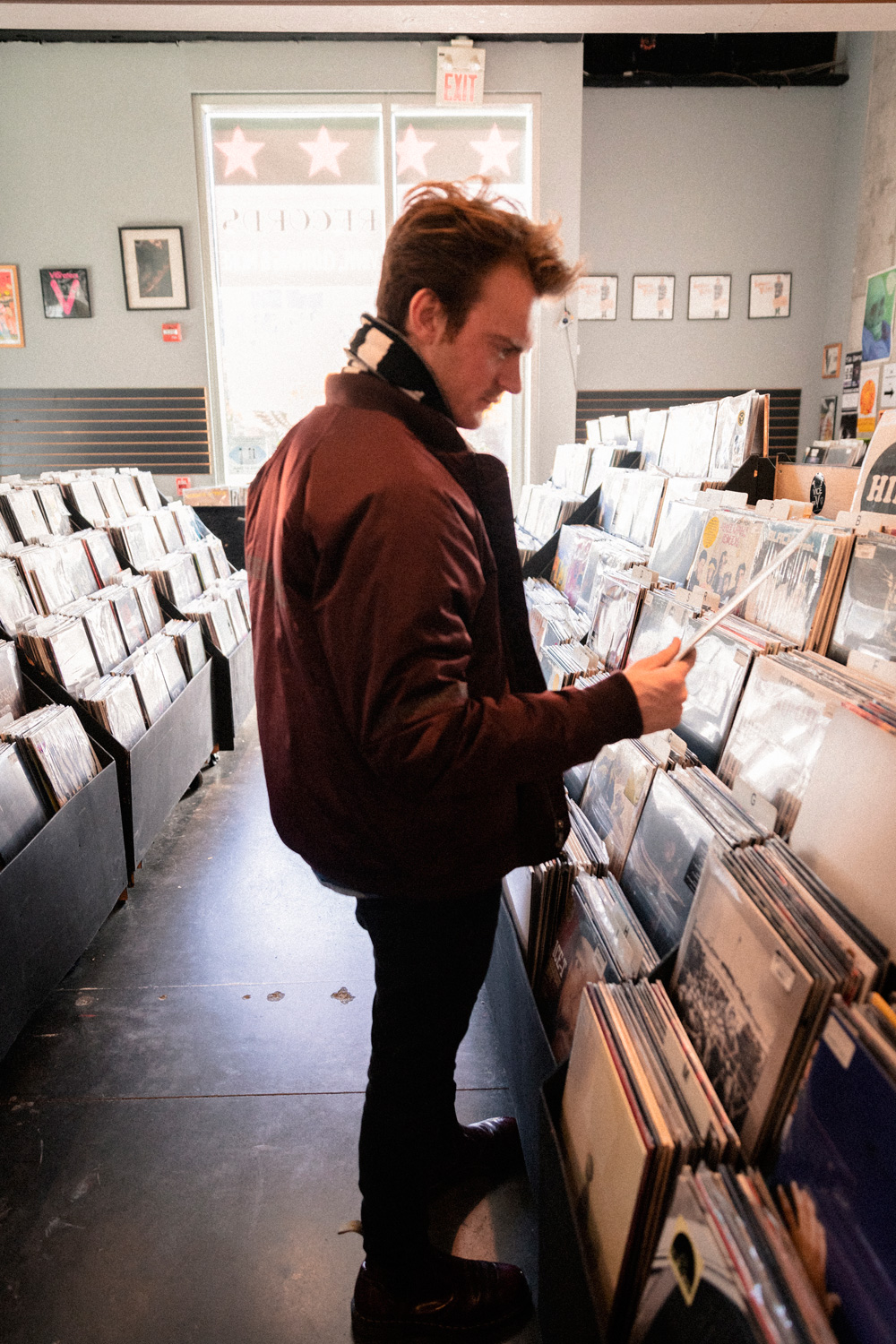 Record Shopping with Finneas