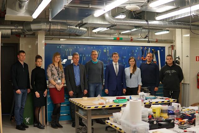 SIA «Mikrotīkls» pārstāvji vizīte RTU