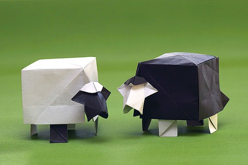 Origami Sheep (Jeong Ki-dam)