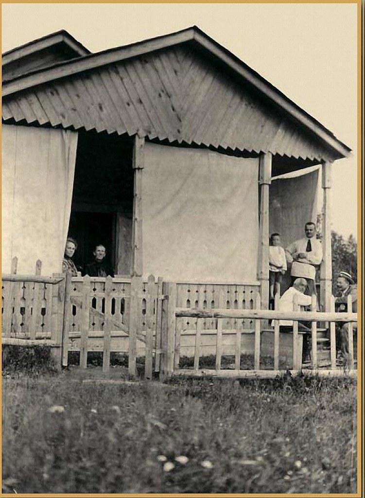 Дачная и усадебная жизнь в фотографиях и карикатурах конца XIX – начала ХХ века. Часть 2