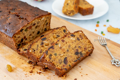 Christmas Fruit Cake Recipe by GoSpicy.net