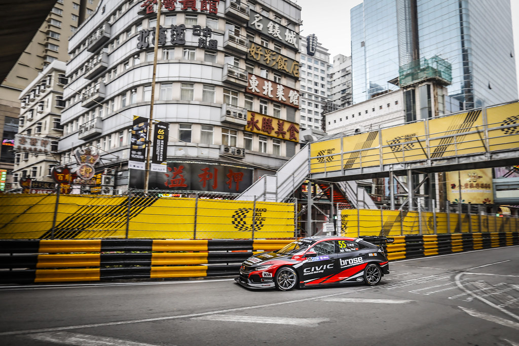 55 Ma Qinghua (CHN), Boutsen Ginion Racing, Honda Civic TCR, action during the 2018 FIA WTCR World Touring Car cup of Macau, Circuito da Guia, from november  15 to 18 - Photo Francois Flamand / DPPI