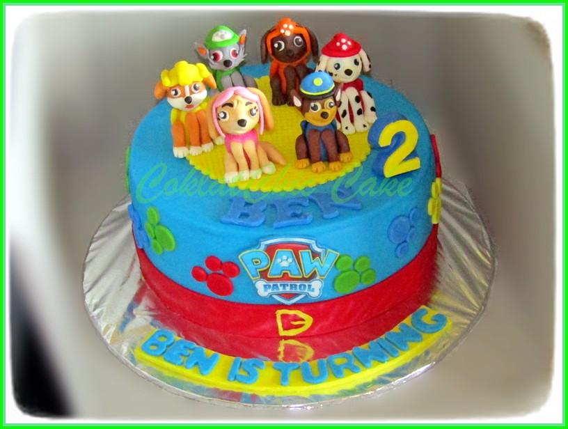 Cake PAW Patrol BEN 15 cm