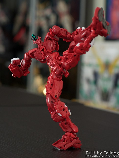HiRM Astray Red Frame Gundam 6