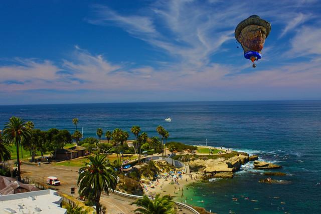 Gogh to La Jolla Cove