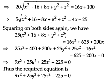 NCERT Solutions for Class 11 Maths Chapter 12 Introduction to Three Dimensional Geometry 7