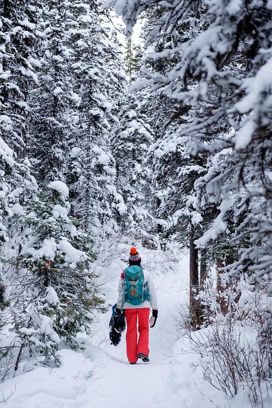 Snowshoeing - Rawson Lake - Jan 2019-3