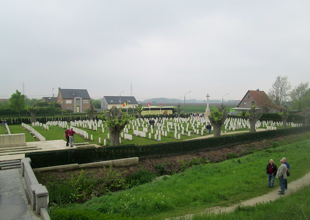 View of Essex Farm Cemetery, Ypres