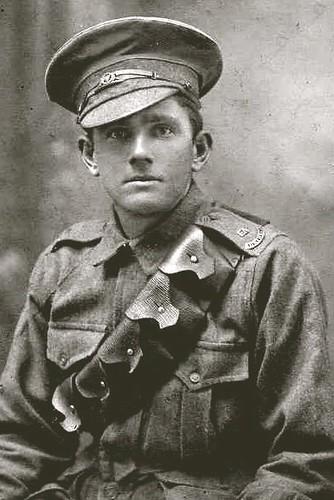 Alfred George Weaver WW1