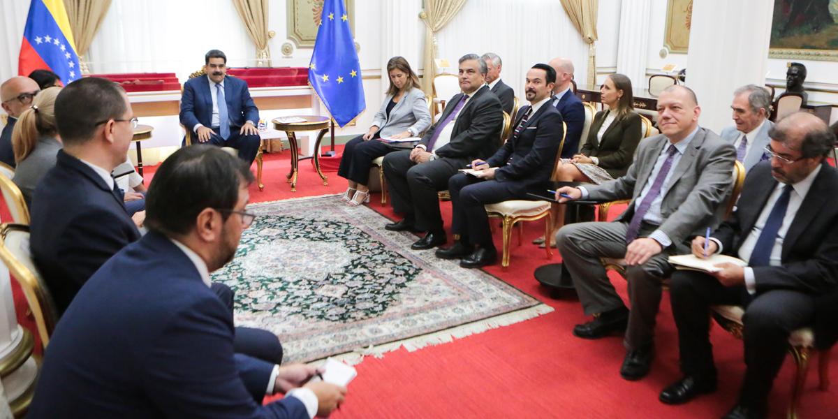 Presidente Maduro se reúne con embajadores y encargados de negocios de la UE