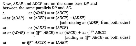 NCERT Solutions for Class 9 Maths Chapter 9 Area of parallelograms and Triangles 27