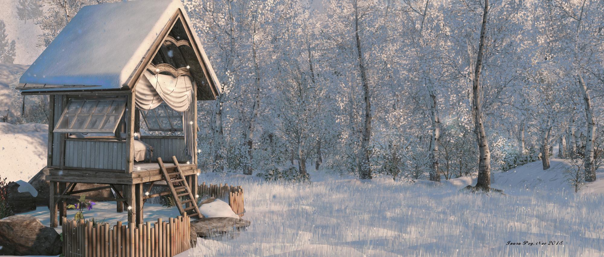 Let It Snow!; Inara Pey, November 2018, on Flickr