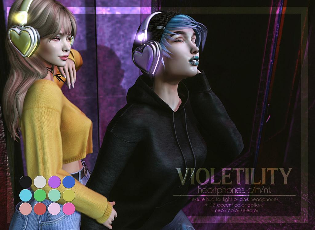 Violetility - HeartPhones - TeleportHub.com Live!
