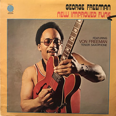 GEORGE FREEMAN:NEW IMPROVED FUNK(JACKET A)