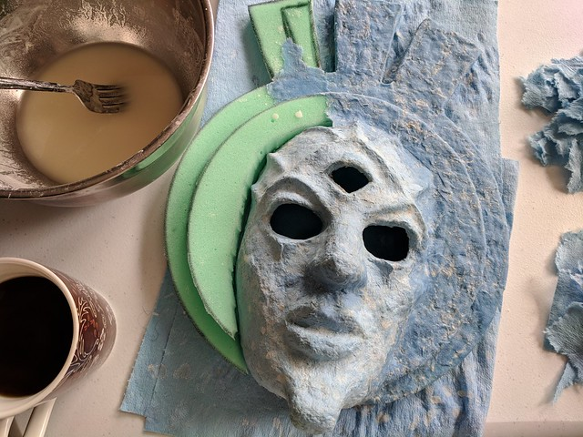 Making the Dagoth Ur Mask