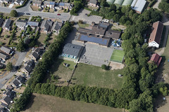 Stowmarket Abbots Hall Community Primary School - aerial