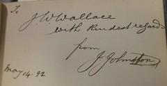 Penn Libraries 811W YCla copy 2: Inscription
