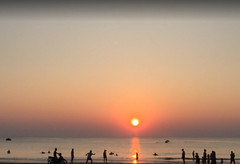 NGWE SAUNG Beach #sunset#beauty#evening#sea##parnorama#Myanmar