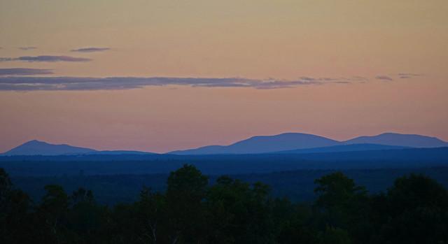 Hills of Northern Maine