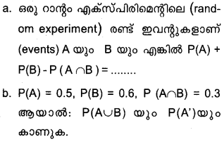 Plus One Maths Model Question Papers Paper 2Q3