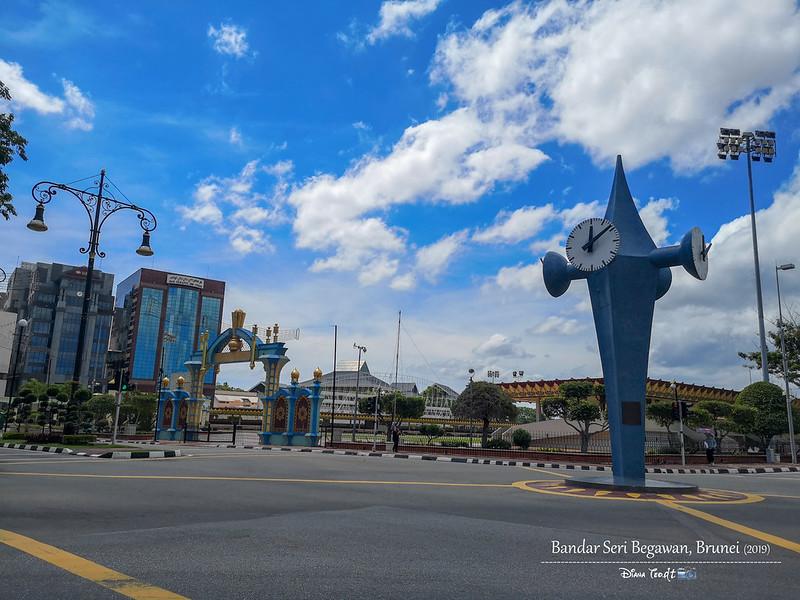 2019 Brunei Trip 08 Clock Tower
