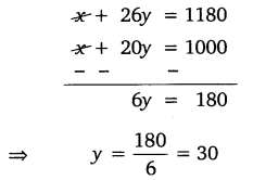 NCERT Solutions for Class 10 Maths Chapter 3 Pair of Linear Equations in Two Variables e5 4