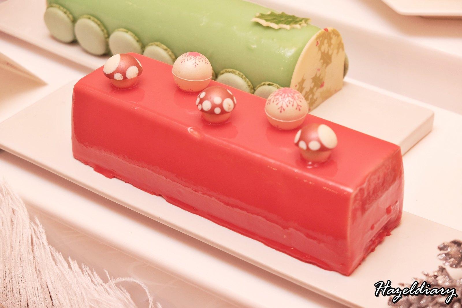Singapore Marriott Tang Hotel-Christmas Dessert-Logcake-1