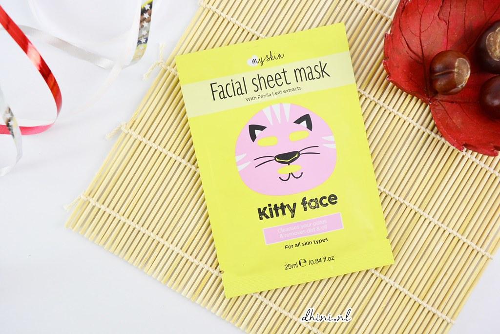 My skin Facial Sheet