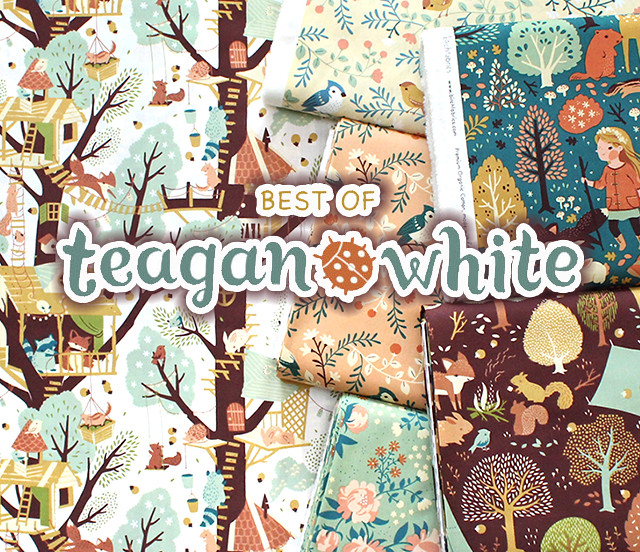 Birch Fabrics Best of Teagan White Collection