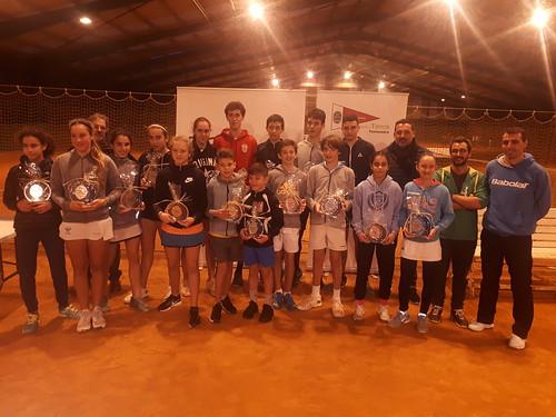Finales de Dobles Campeonatos Gallegos Alevín y Cadete 2018