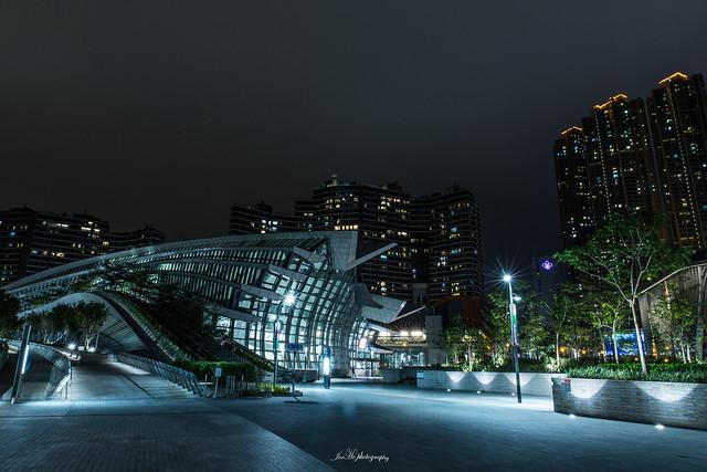 2018年12月09日 - 香港西九龍站綠化空間