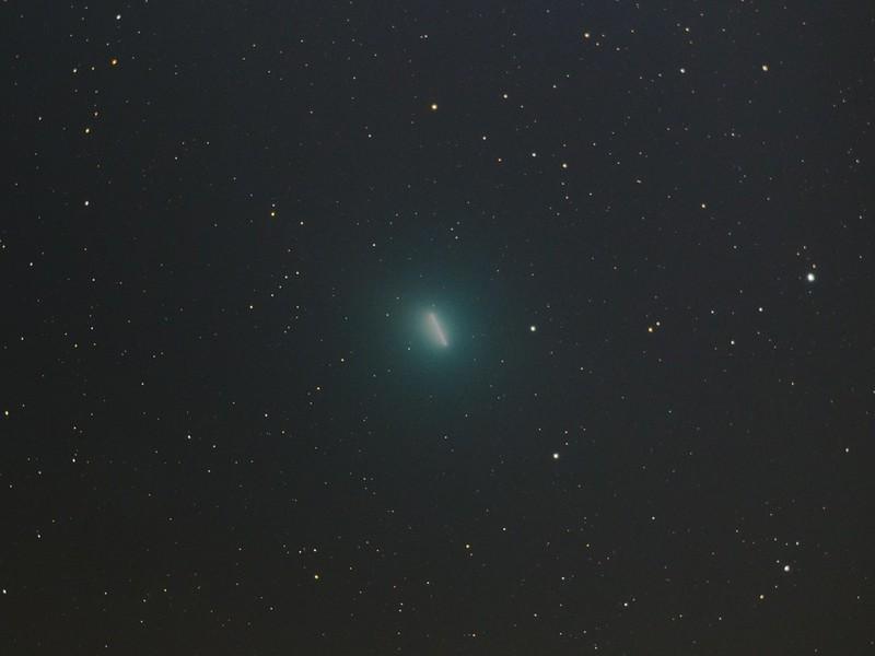 46P ウィルタネン彗星 (2018/12/13 23:25-23:58 恒星基準コンポジット)