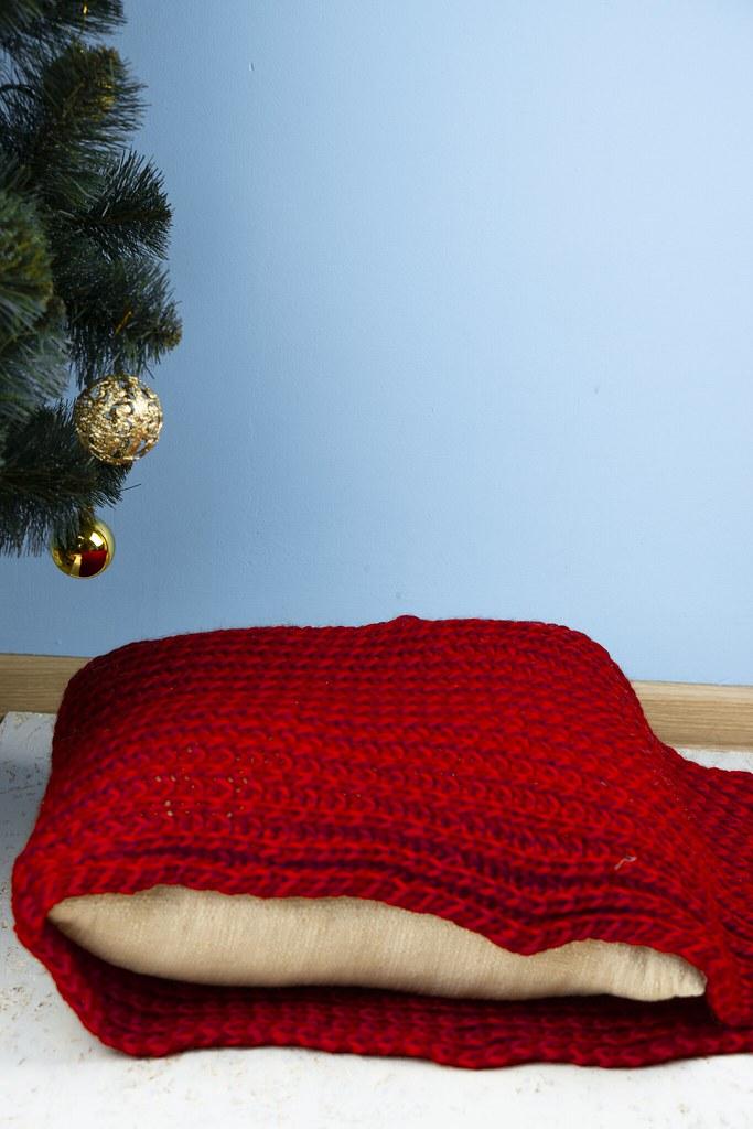 DIY: Рождественские подушки