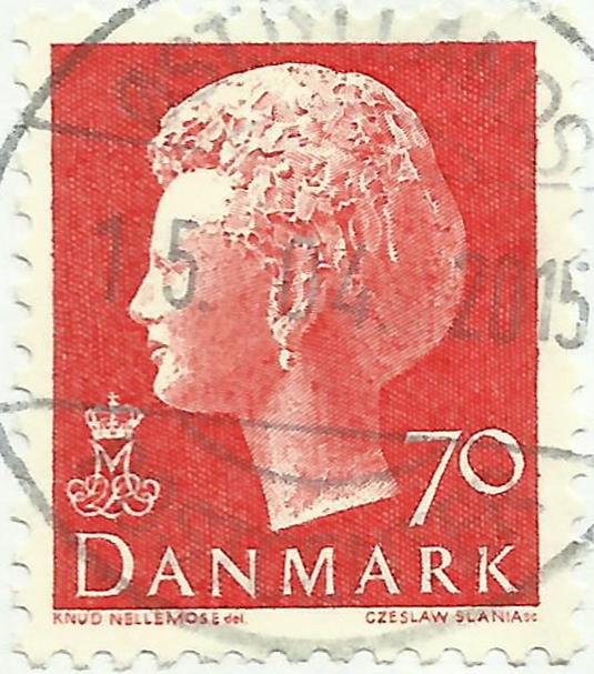 Denmark - Scott #534 (1974)