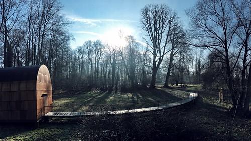Morning @ park Castle Wartegg